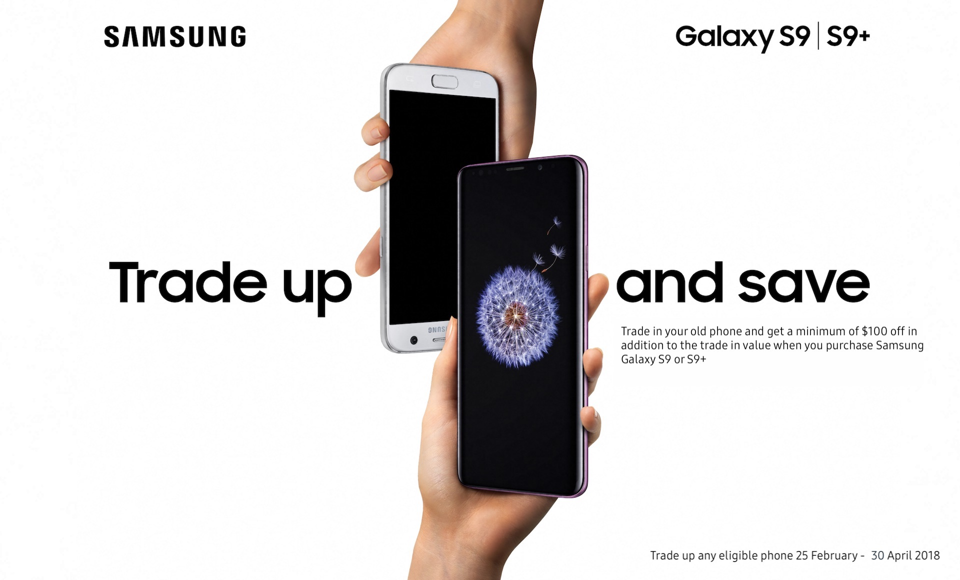 Trade and Save Galaxy S9/S9+